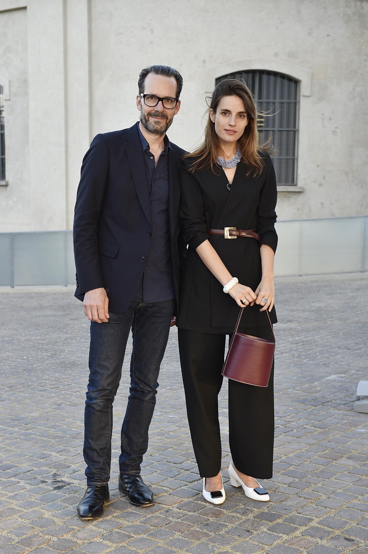 Konstantin Grcic à l'inauguration de la Torre à la Fondazione Prada le 18 avril 2018 à Milan, Italie. (Photo by Pietro D'Aprano/Getty Images for Fondazione Prada)