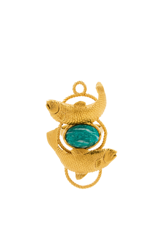 POISSONS (20 février-20 mars) : Turquoise • Amazonite russe