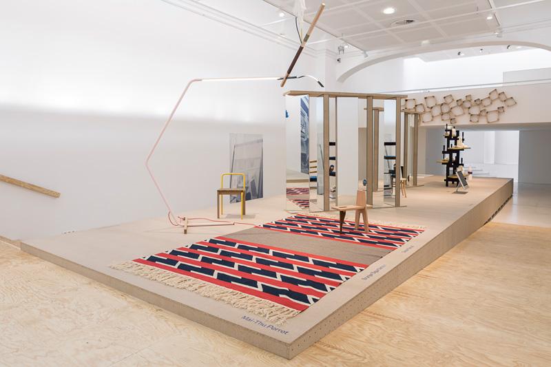 """Vue de l'exposition """"Le Grand Détournement"""", 2017, Galerie Poirel, Nancy. Commissaires de l'exposition : David des Moutis et Juliette Pollet. © Crédit photo : Michel Giesbrecht"""