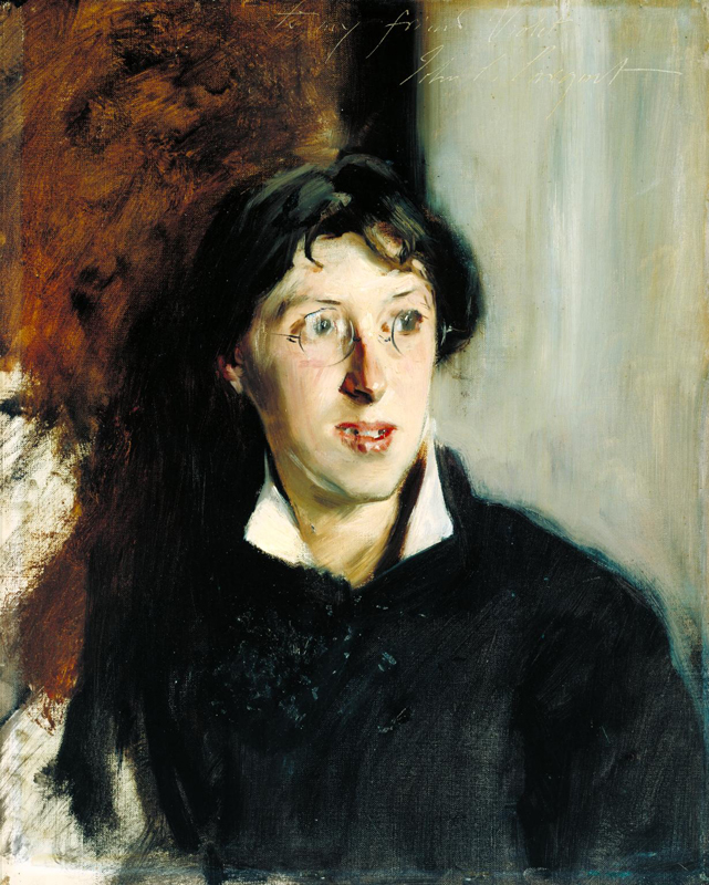 """Sargent Venon Lee"" John Singer (1881). crédit : Tate Britain"