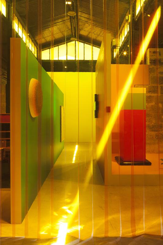 Vincent Beaurin, Ocelle, 2016 et Ettore Sottsass, cabinet Hotel California, 1966