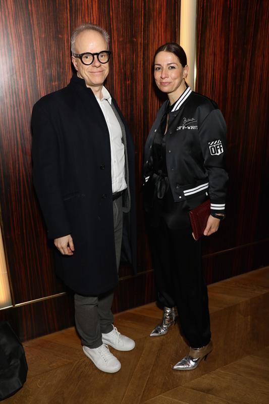 Hans-Ulrich Obrist et Yana Peel