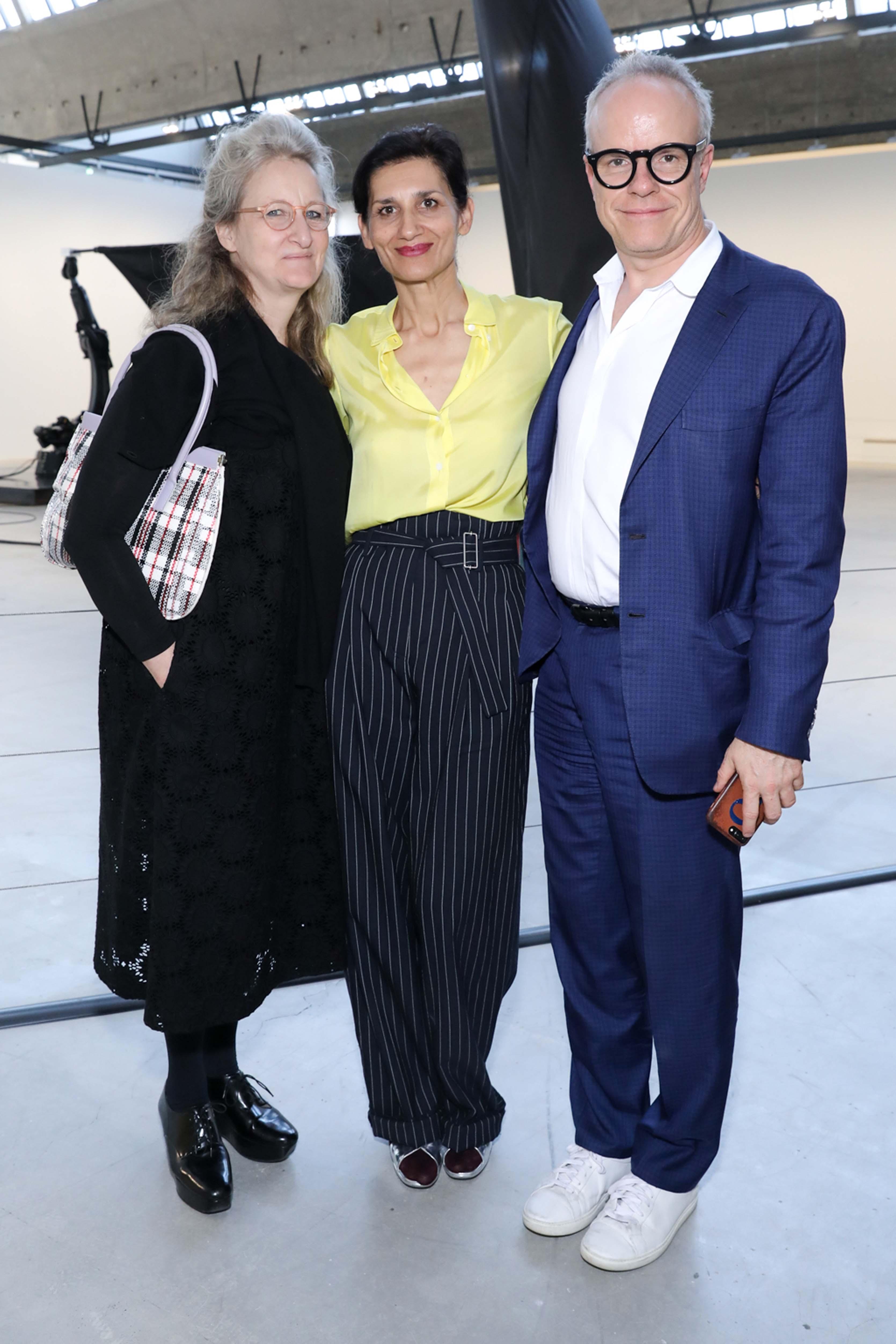 Molly Nesbit, Louise Neri et Hans Ulrich Obrist