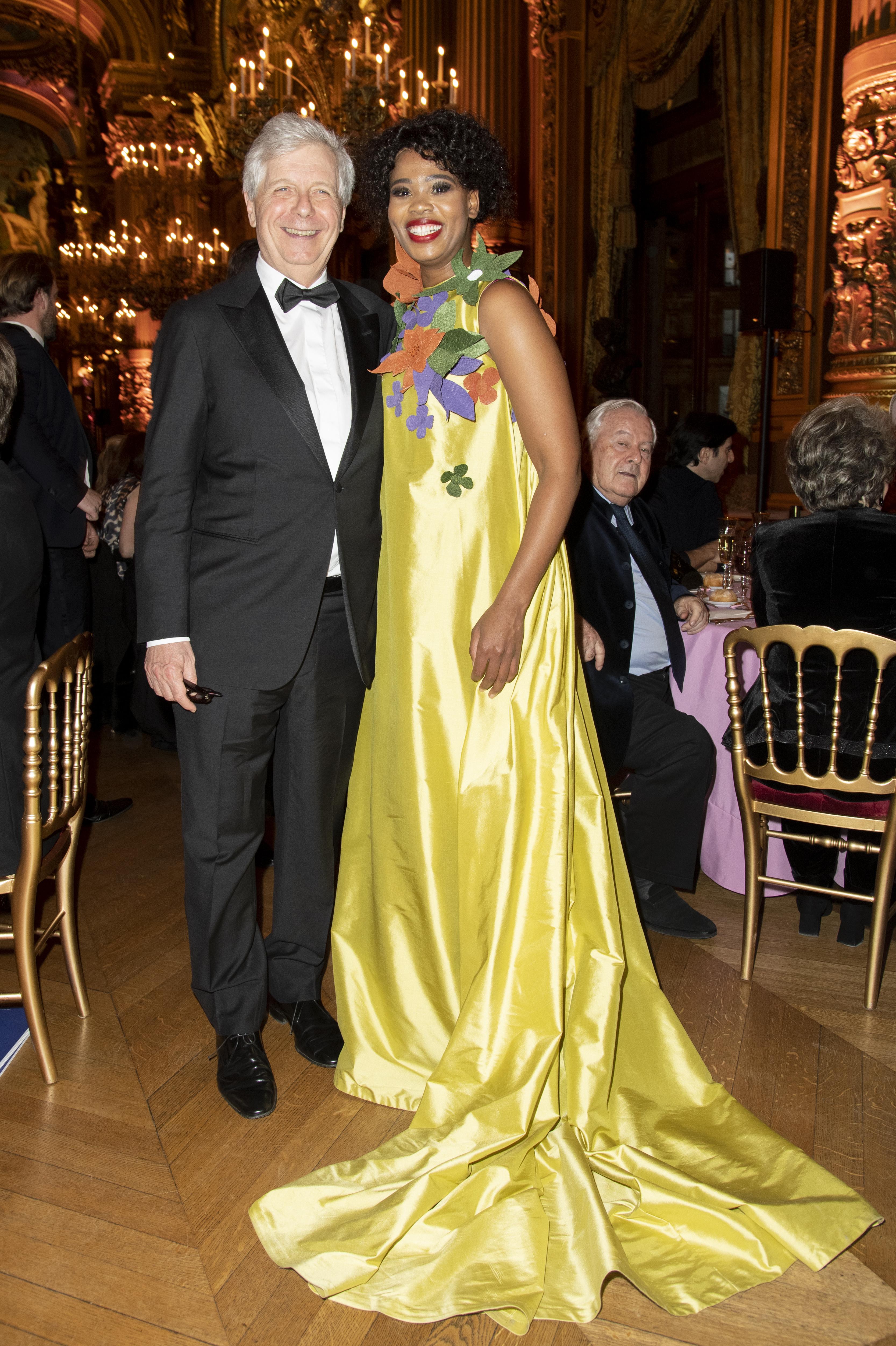 Stephane Lissner et Pretty Yeng.  ©Virgile Guinard