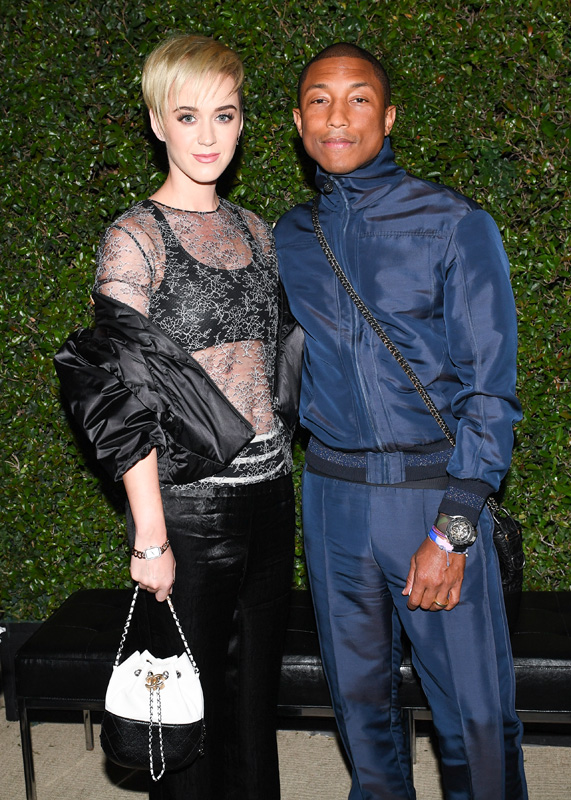 Katy Perry et Pharrell Williams