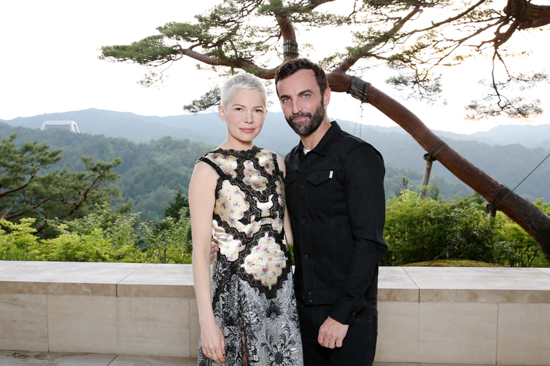 Michelle Williams et Nicolas Ghesquière