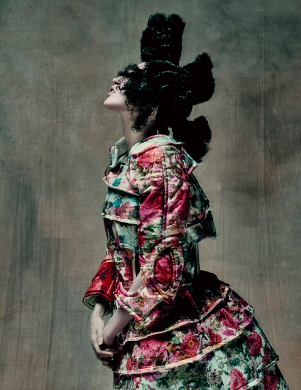 Rei Kawakubo (Japanese, born 1942) for Comme des Garçons (Japanese, founded 1969). 18th-Century Punk, autumn/winter 2016–17; Courtesy of Comme des Garçons. Photograph by © Paolo Roversi