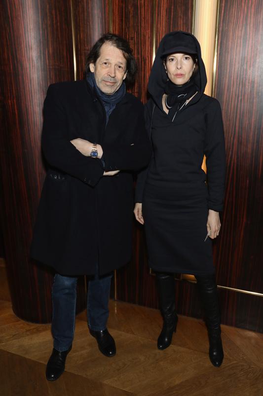 Anna Blessmann et Peter Saville