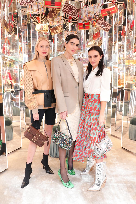 Leonne Hanne, Brittany Xavier et Olivia Perez