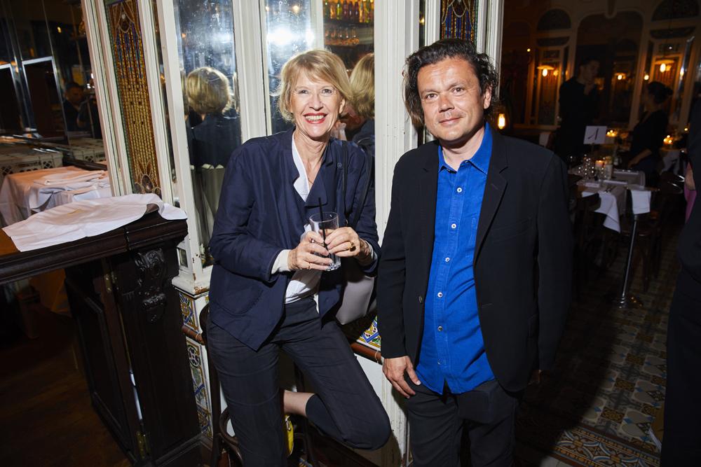 Colette Barbier et Jean-Michel Othoniel