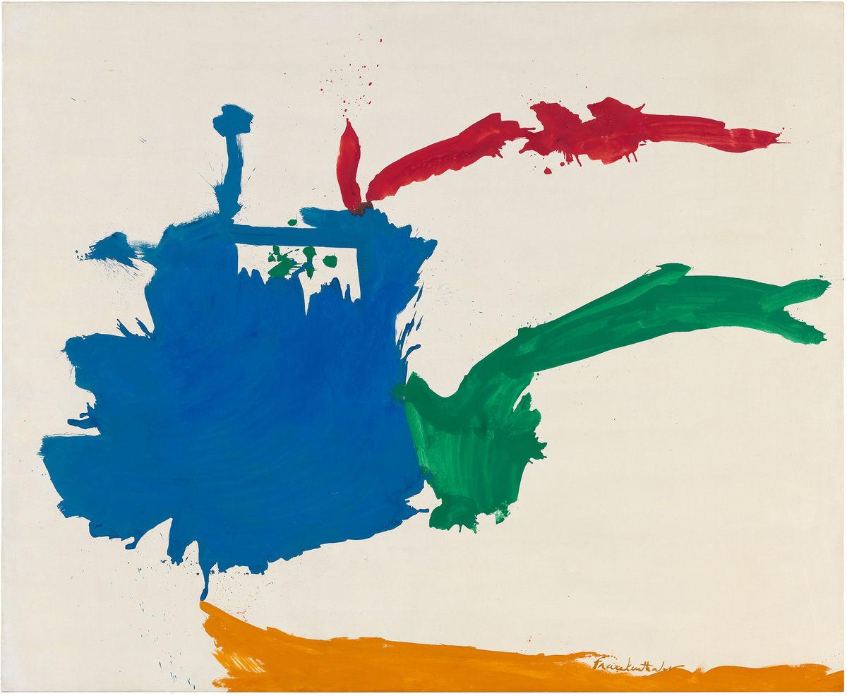 Vue de l'exposition Helen Frankenthaler au Palazzo Grimani