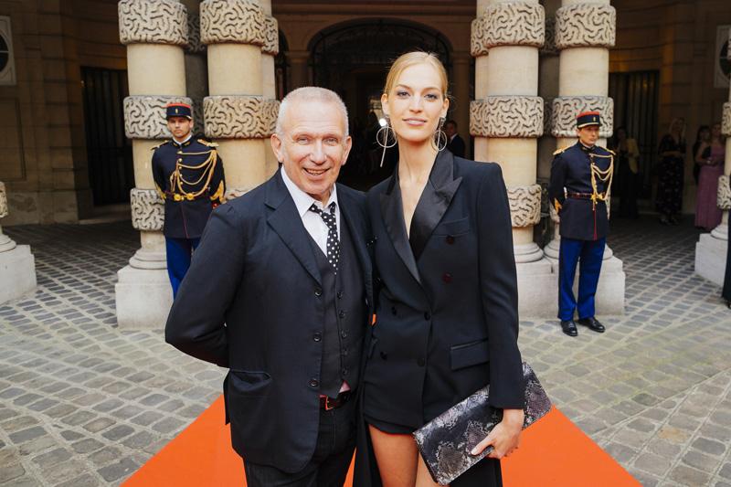JeanPaul Gaultier et Vanessa Axente