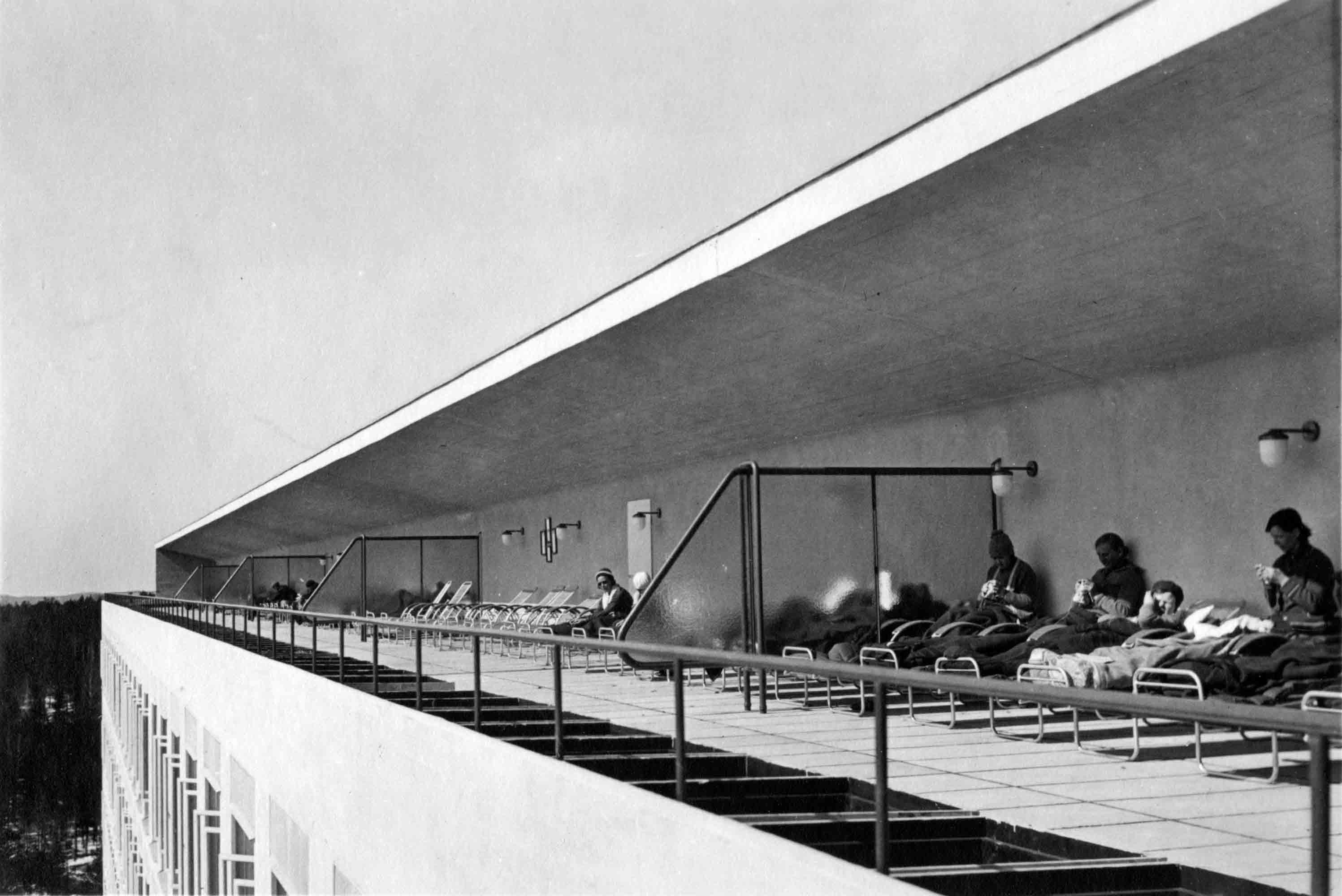 Sanatorium pour tuberculeux ©Alvar Aalto Museum