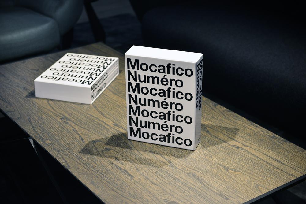 Le livre Mocafico x Numéro