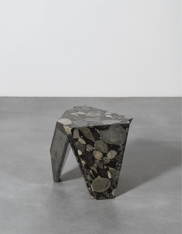 Pose en marbre et fibre de verre