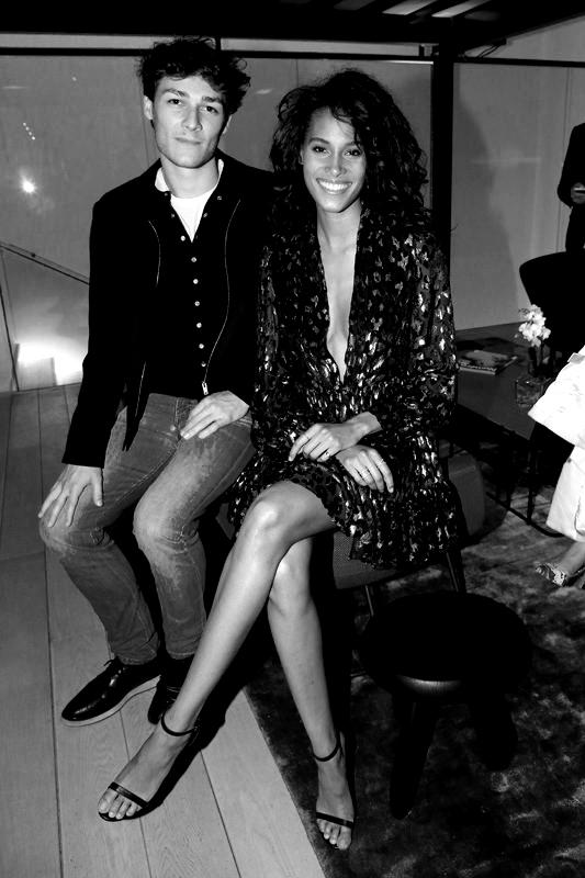 Hugo Marchand et Cindy Bruna