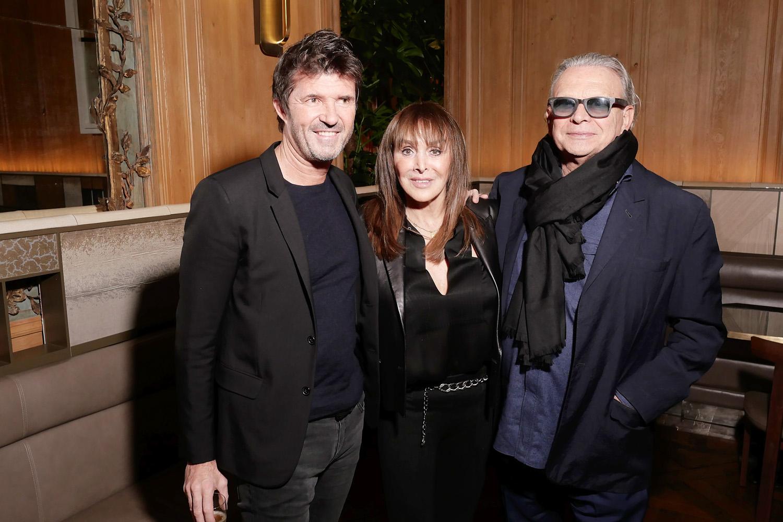 Paul-Emmanuel Reiffers, Babeth Djian et Olivier Massart