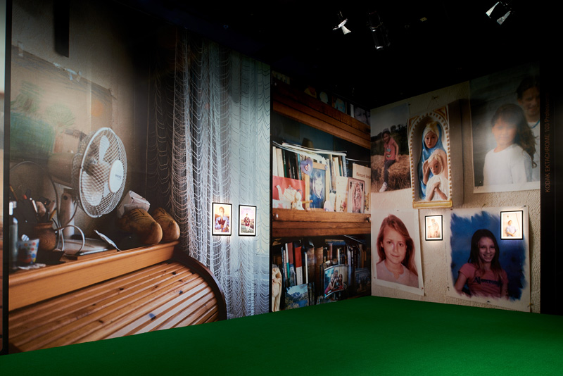 View in situ - Petra Collins exhibition in Hong Kong