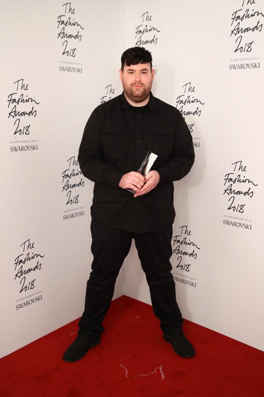 Richard Quinn, créateur de Richar Quinn : British Emerging Talent Womenswear