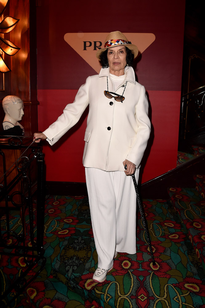 Bianca Jagger © Jacopo Raule/Getty Images for Prada