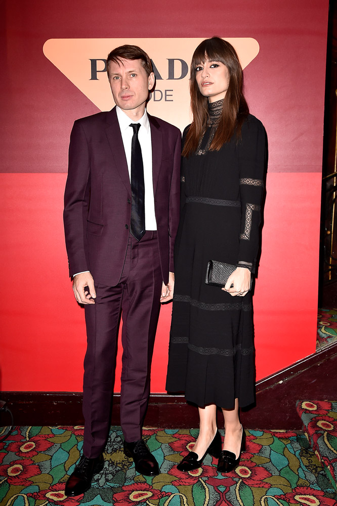 Alex Kapranos and Clara Luciani © Jacopo Raule/Getty Images for Prada
