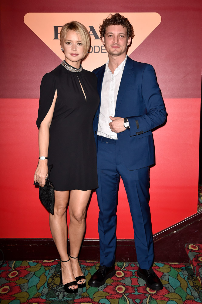 Virginie Efira and Niels Schneider © Jacopo Raule/Getty Images for Prada