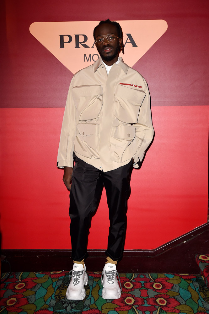 Iddris Sandu © Jacopo Raule/Getty Images for Prada