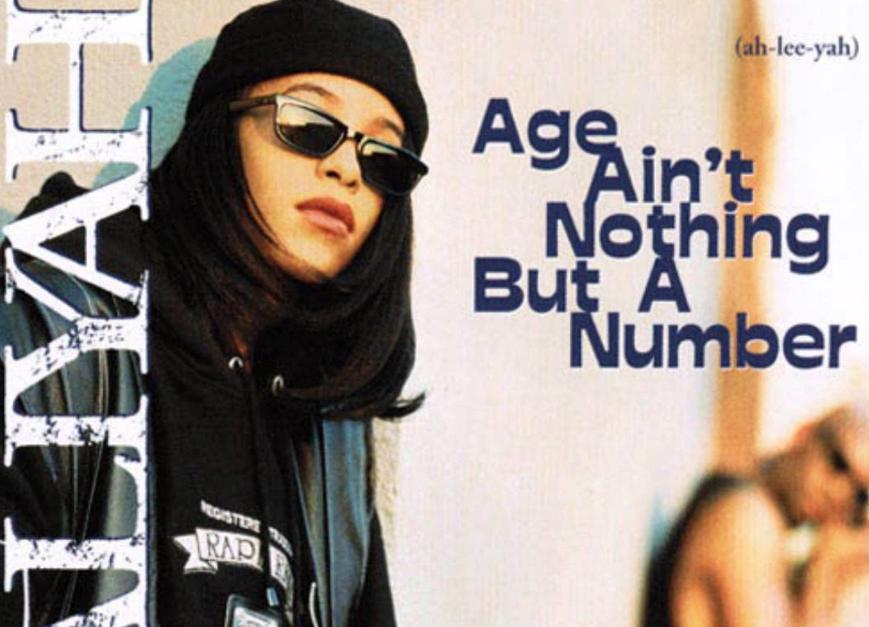 """Pochette de """"Age Ain't Nothing but a Number"""" (1994) de Aaliyah"""