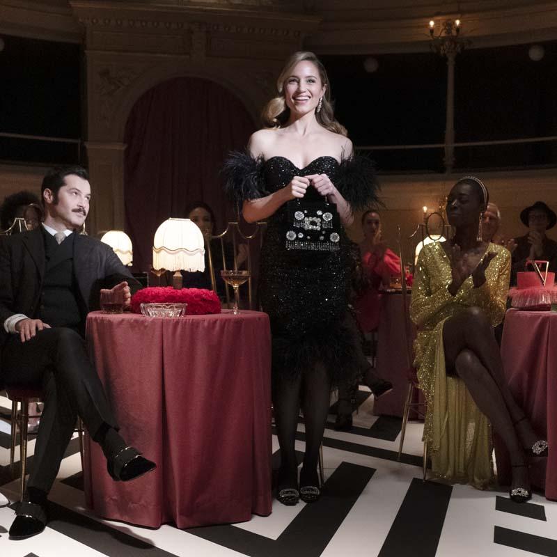 Christina Ricci et Dianna Agron dans un film de Roger Vivier
