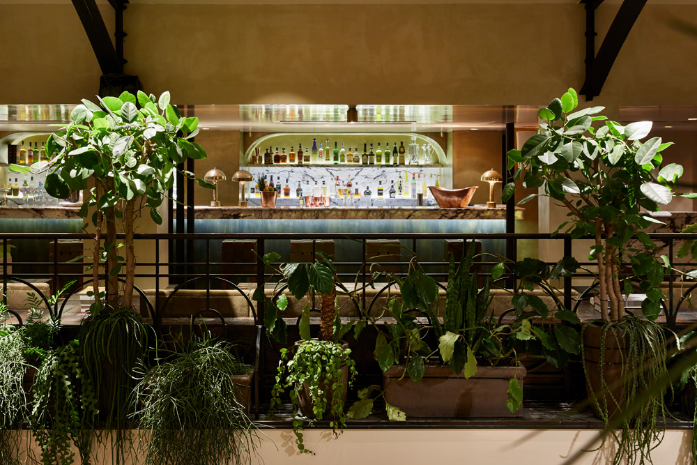 Le restaurant de l'Alcazar