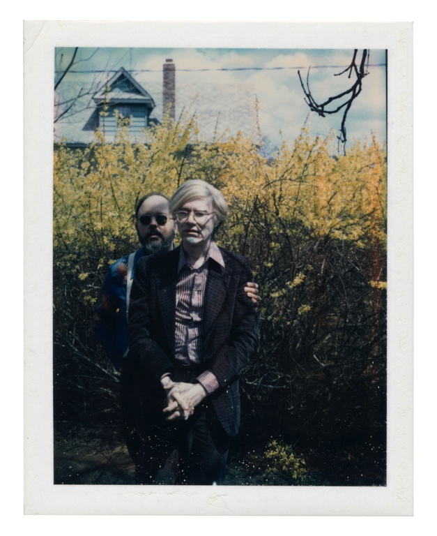 """Andy Warhol, """"Andy Warhol and Henry Geldzahler"""" (circa 1979), impression Polaroid unique. Photo courtesy of Christie's Images LTD."""