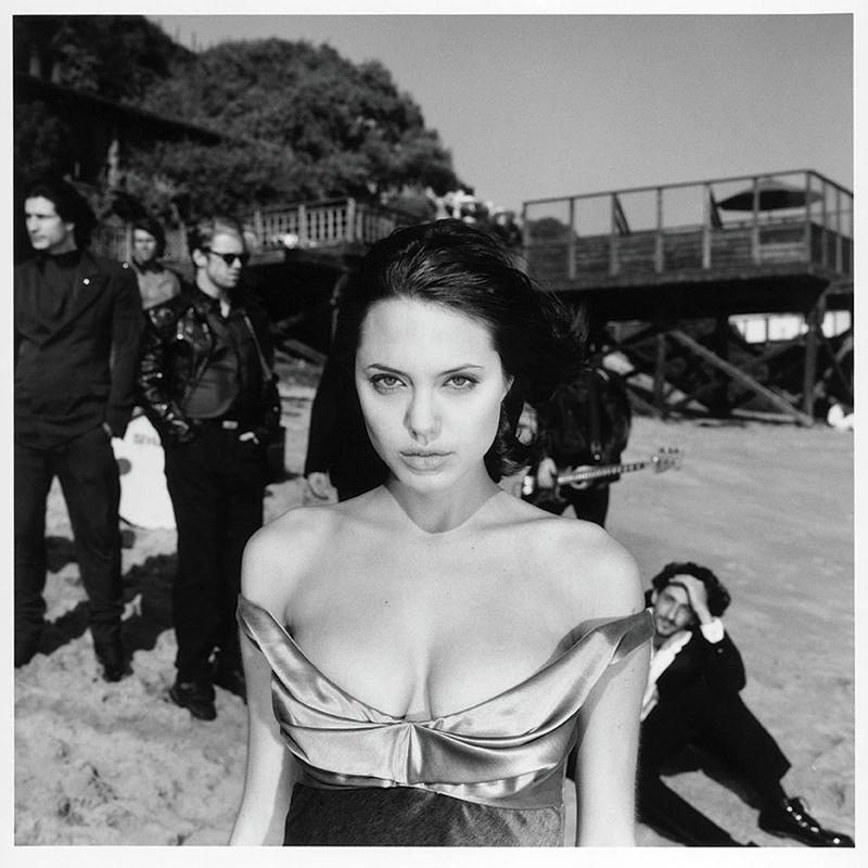 Angelina Jolie © Michel Haddi