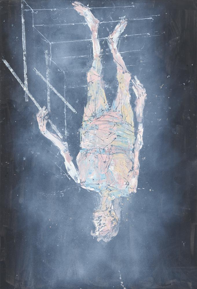 Ankunft-(Arrival), 2018. Georg Baselitz