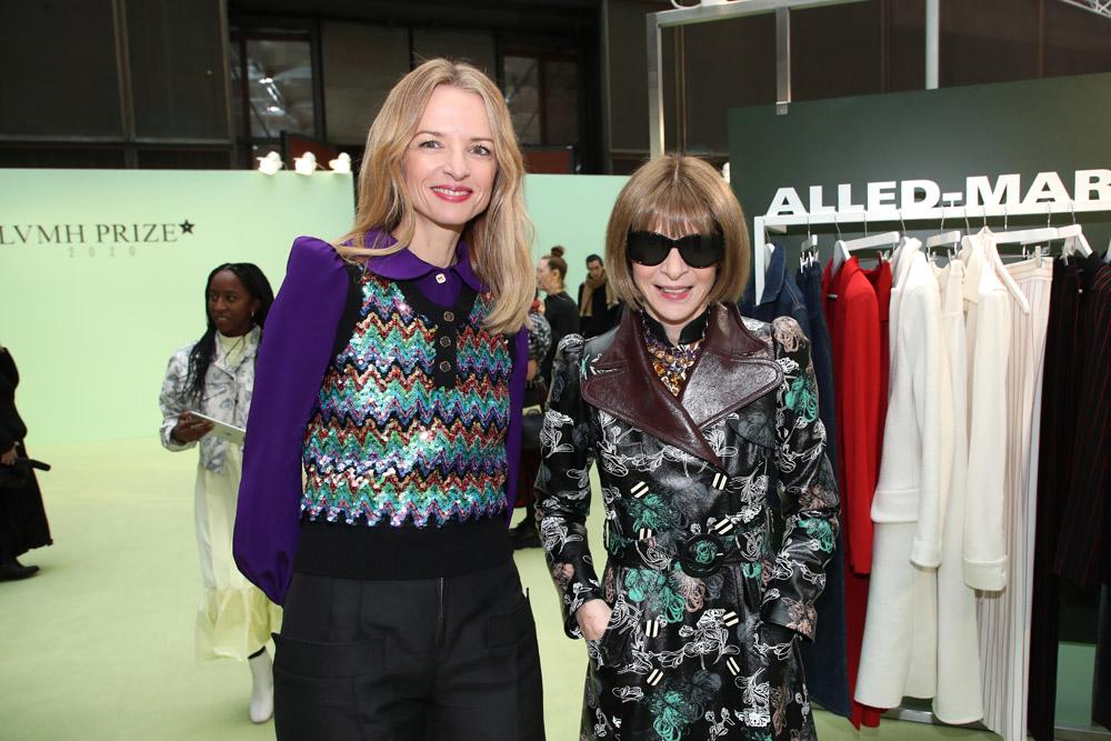Anna Wintour et Delphine Arnault
