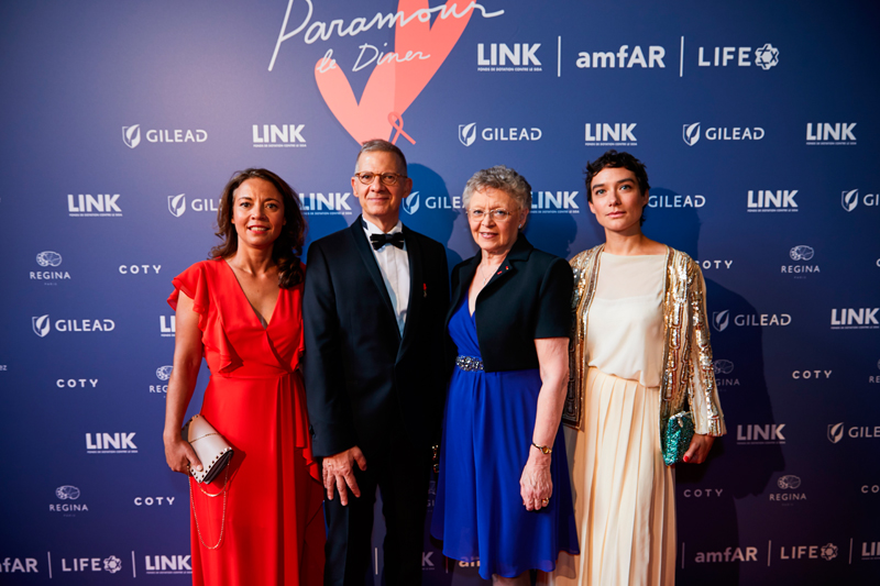 Anne Bouferuene, Michel Simon, Françoise Barre Sinoussi, Eve Plenel