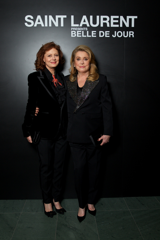 Susan Sarandon et Catherine Deneuve