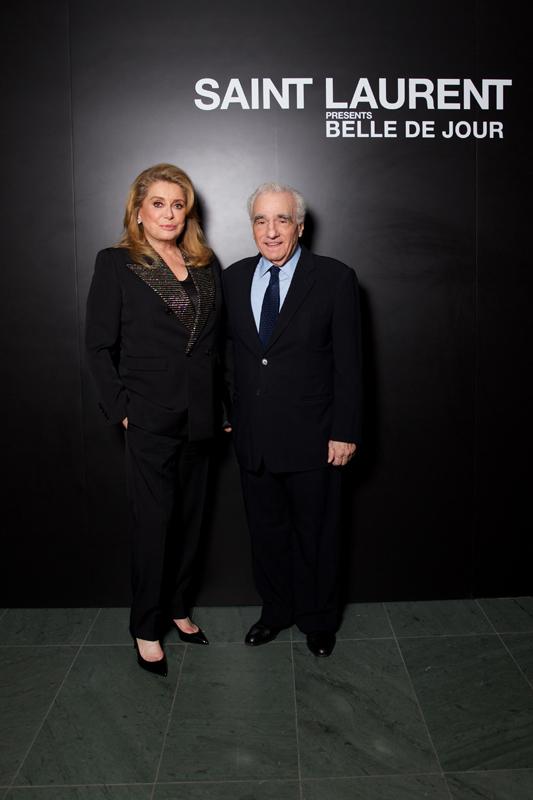 Catherine Deneuve et Martin Scorsese