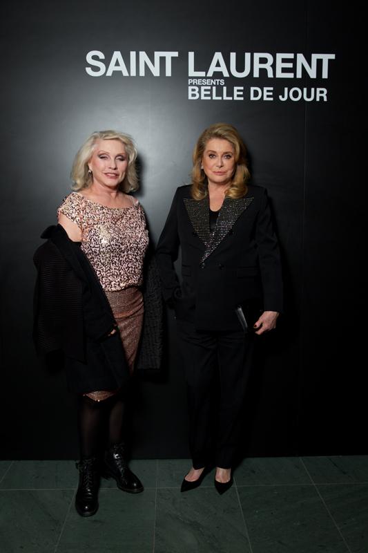 Debbie Harry et Catherine Deneuve