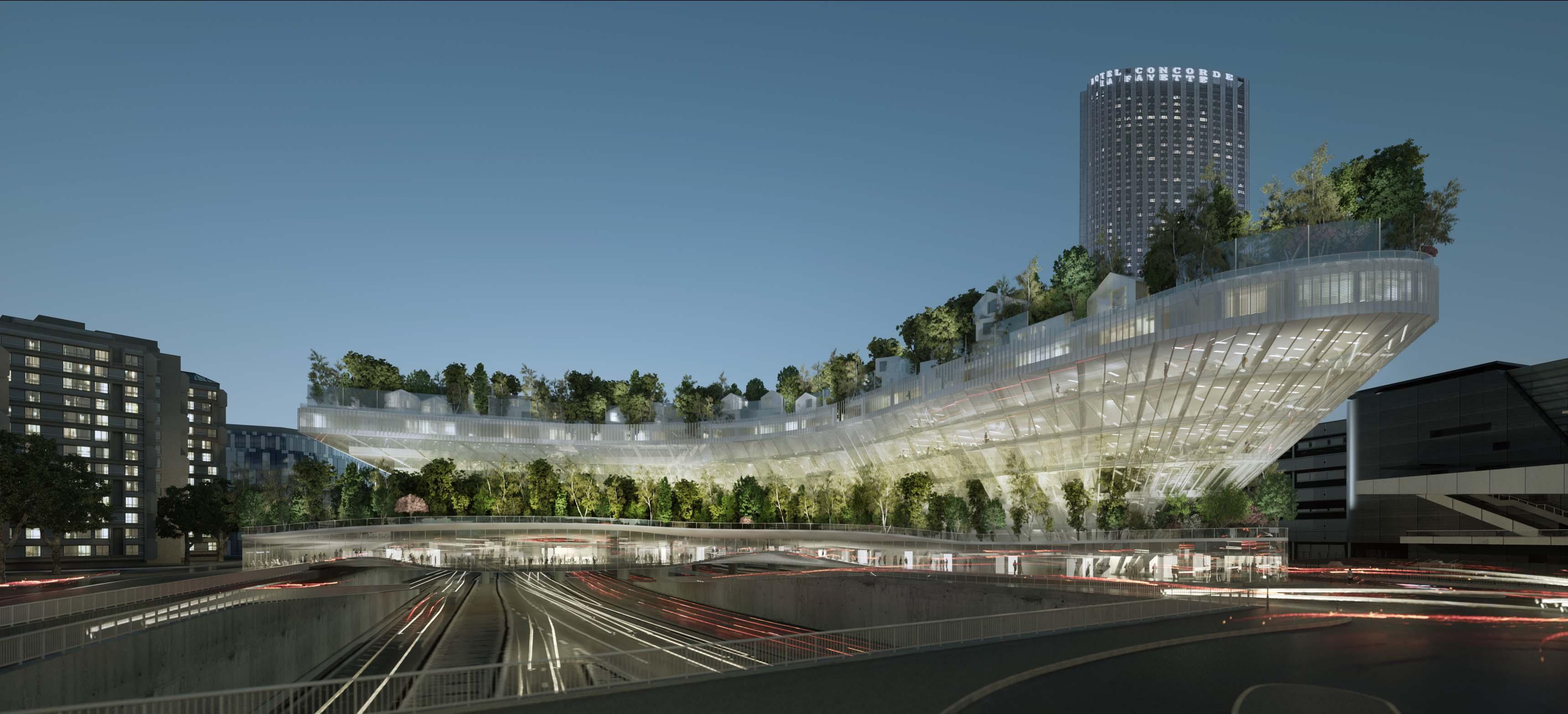 Projet 1000 arbres, Paris