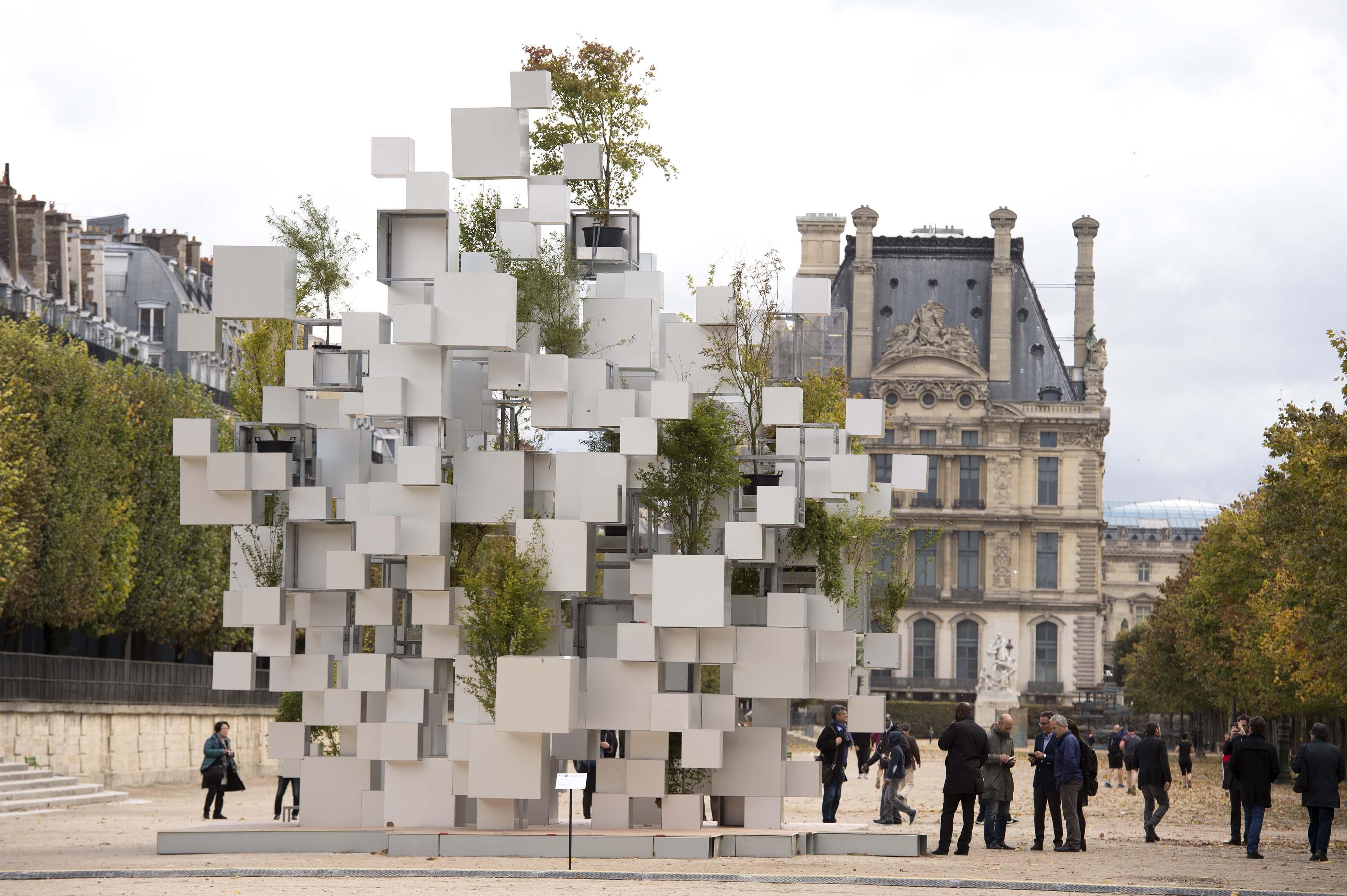 l 39 architecture japonaise s 39 expose paris avec le pavillon de l 39 arsenal. Black Bedroom Furniture Sets. Home Design Ideas