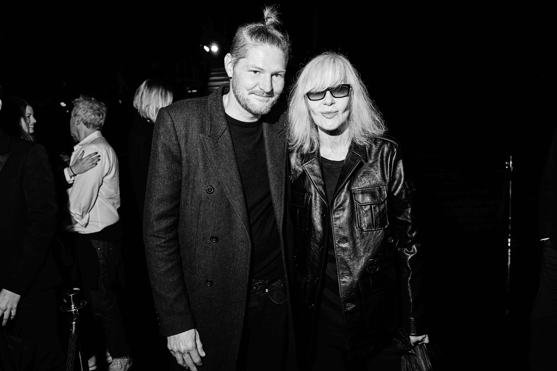 Arnaud Michaux et Betty Catroux