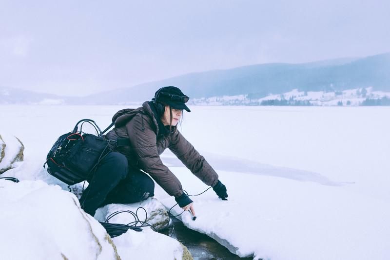 Jana Winderen visite la Vallée de Joux © Audemars Piguet