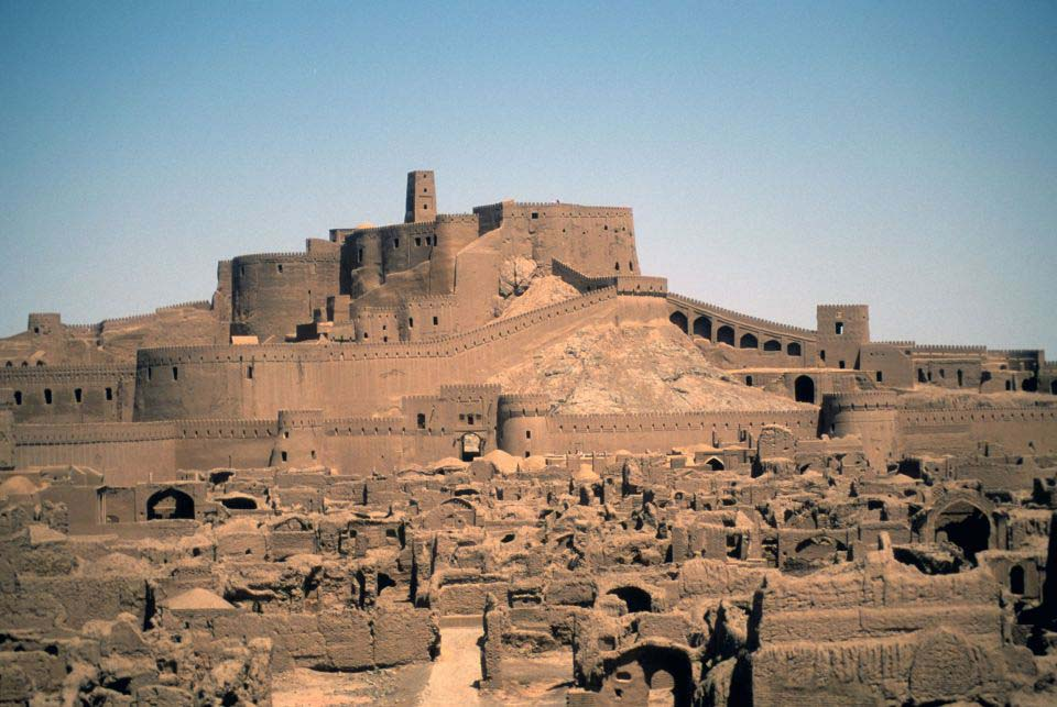 La citadelle de Bam, en Iran