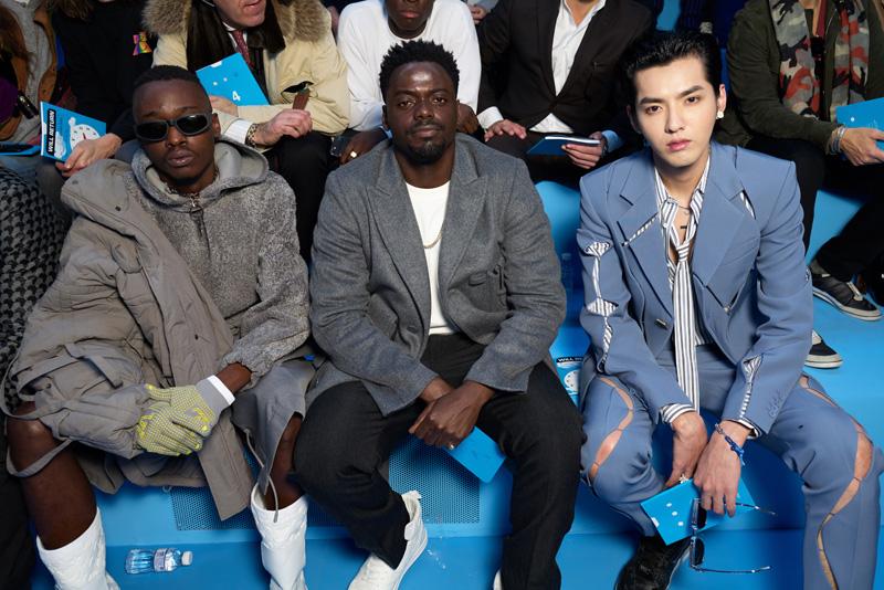 Ashton Sanders, Daniel Kalluya et Kris Wu