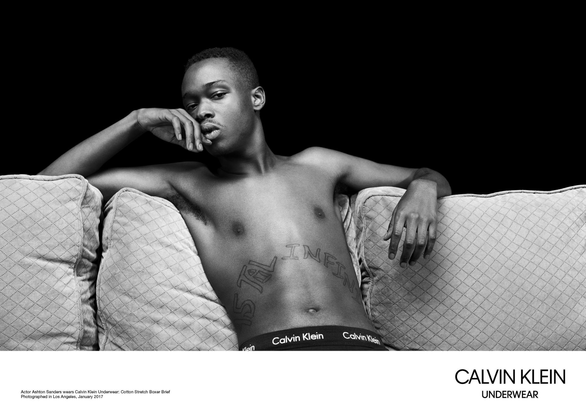 Calvin Klein, campagne printemps-été 2017 photographiée par Willy Vanderperre