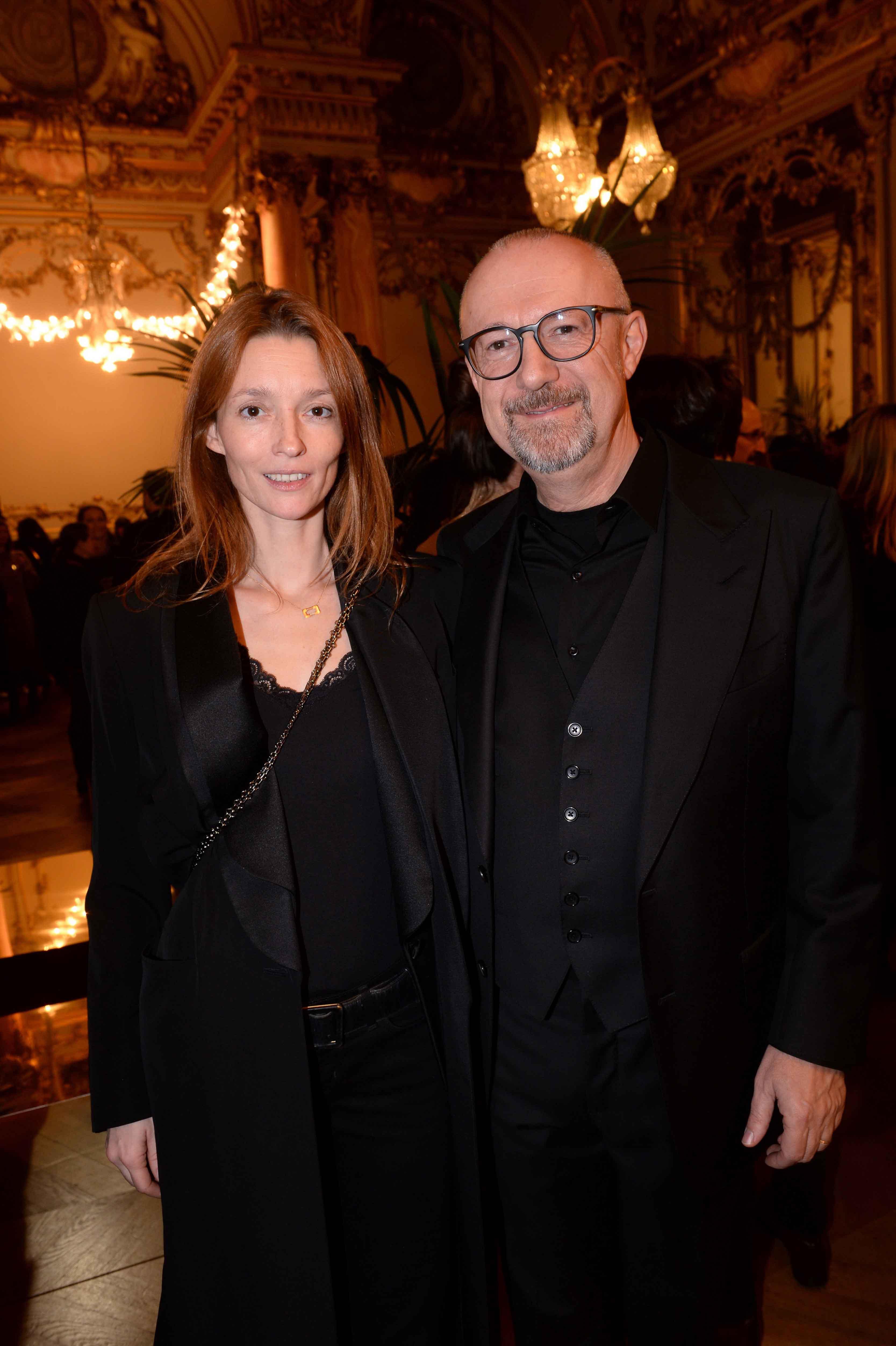 Audrey Marney et Sandro Veronesi