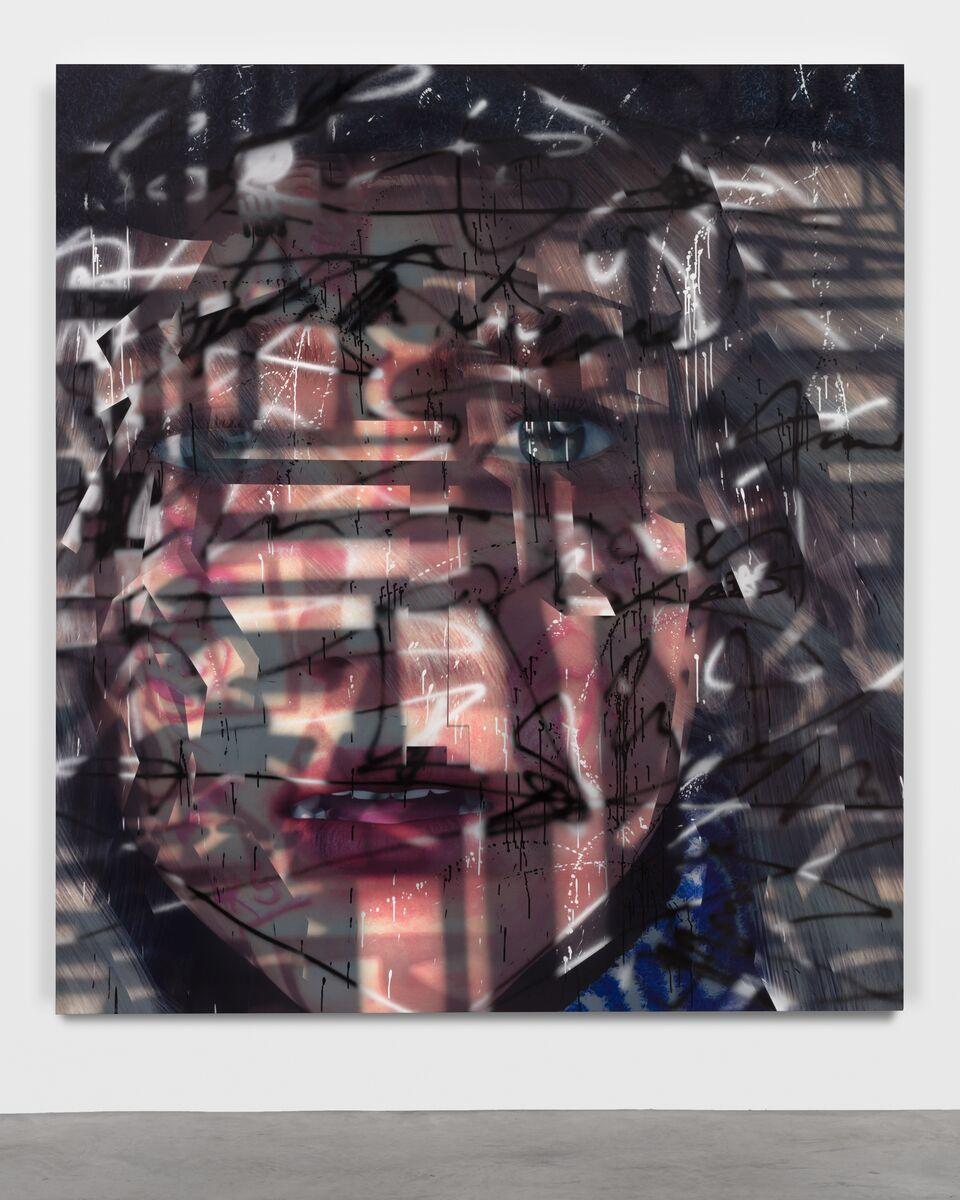 """Heir"" (2020) d'Avery Singer. Courtesy of the artist, Hauser & Wirth and Kraupa-Tuskany Zeidler, Berlin."