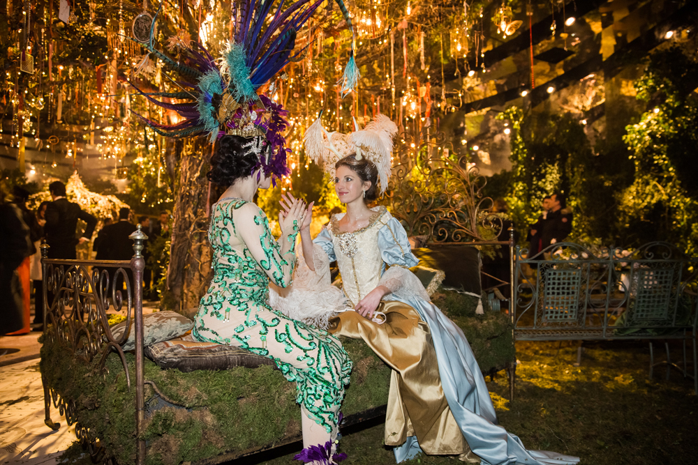 Le bal couture Dior au musée Rodin