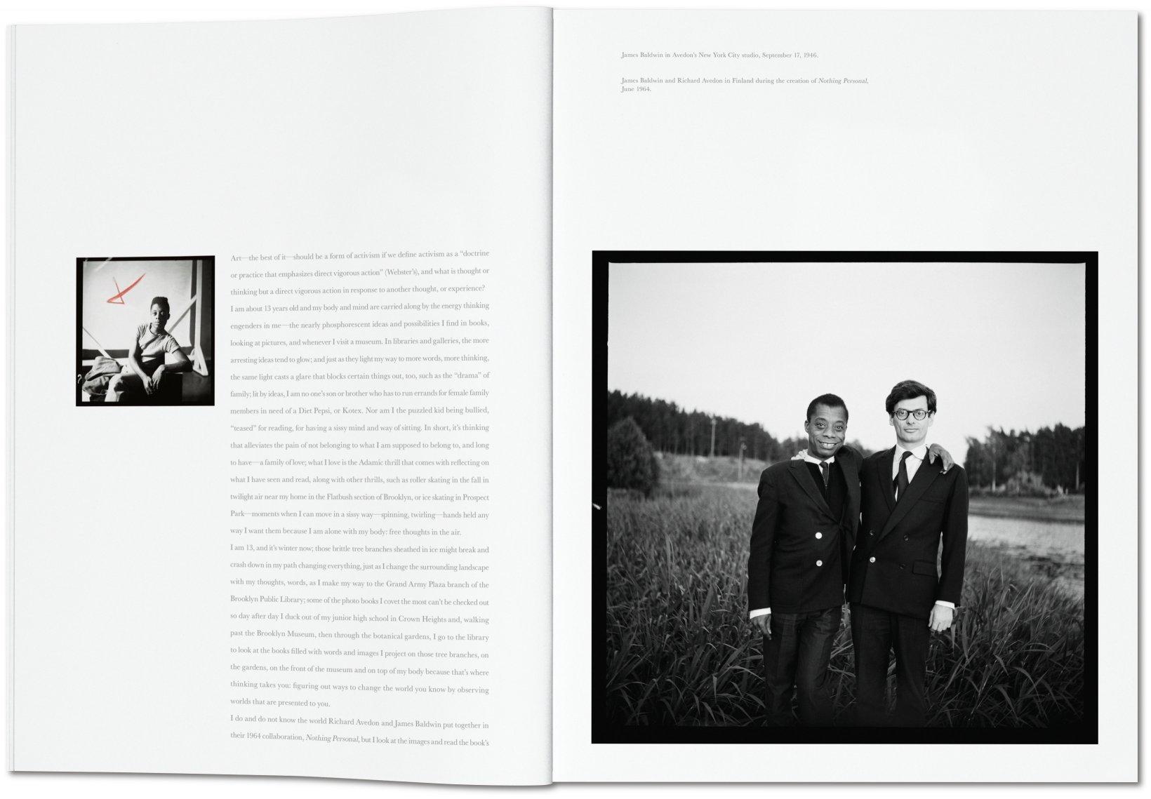 Richard Avedon, James Baldwin. Sans Allusion (Taschen)