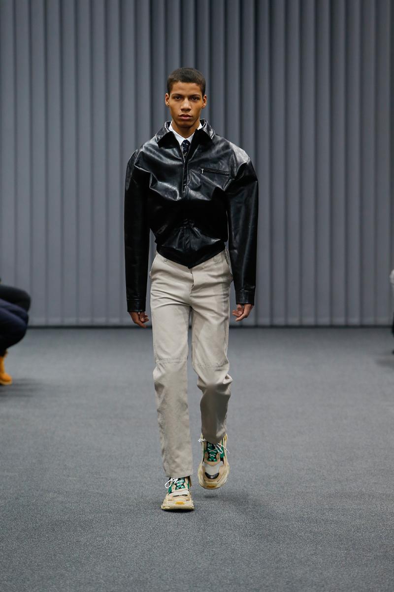 Balenciaga autumn winter 2017 Menswear show in Paris
